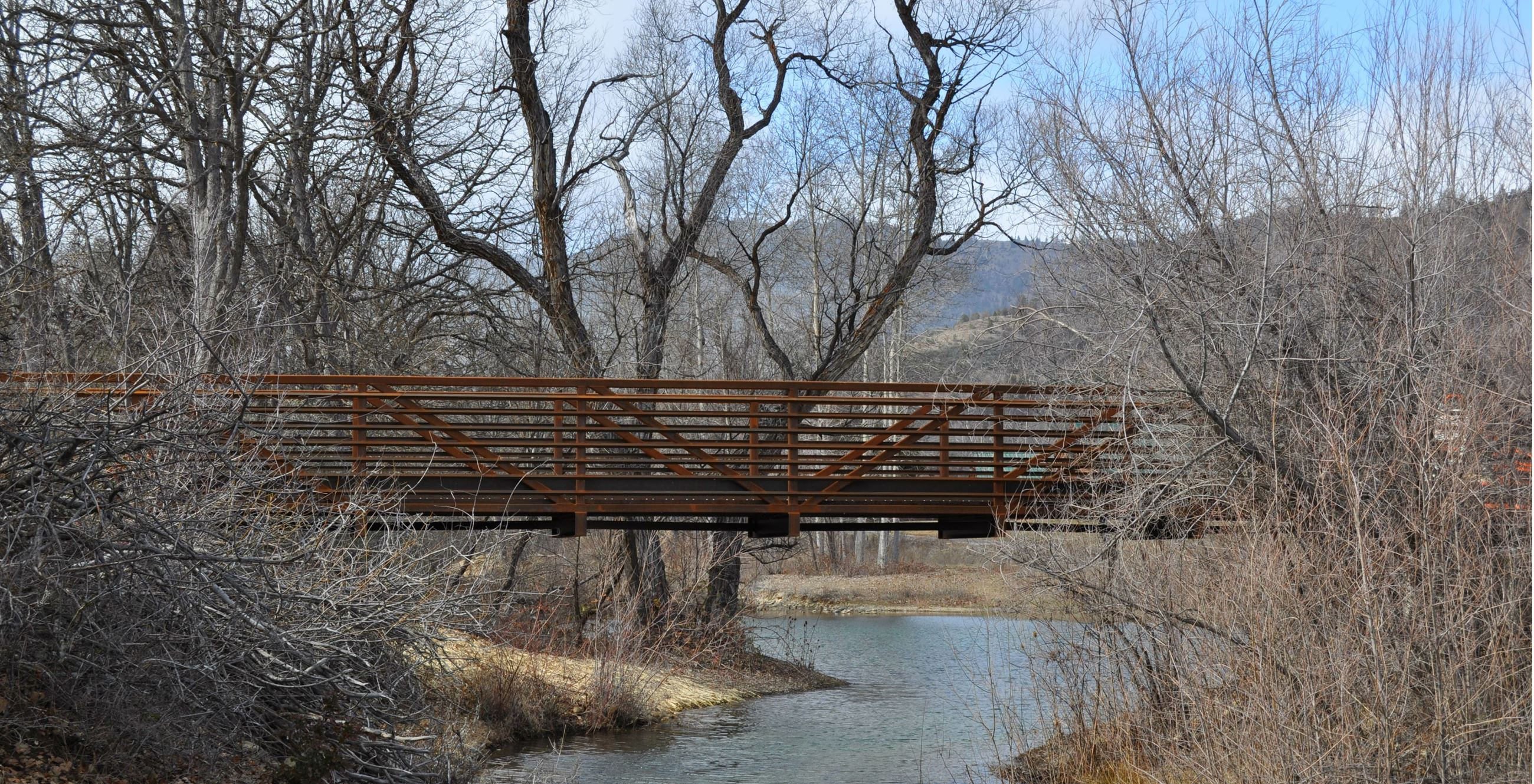 Greenhorn Creek Floodplain Restoration and Trails Project Bridge