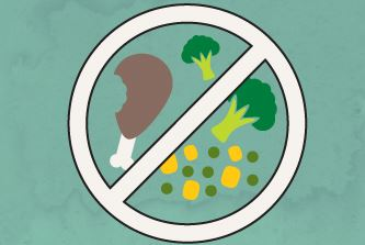 Throw Food Scraps into the Trash or Compost