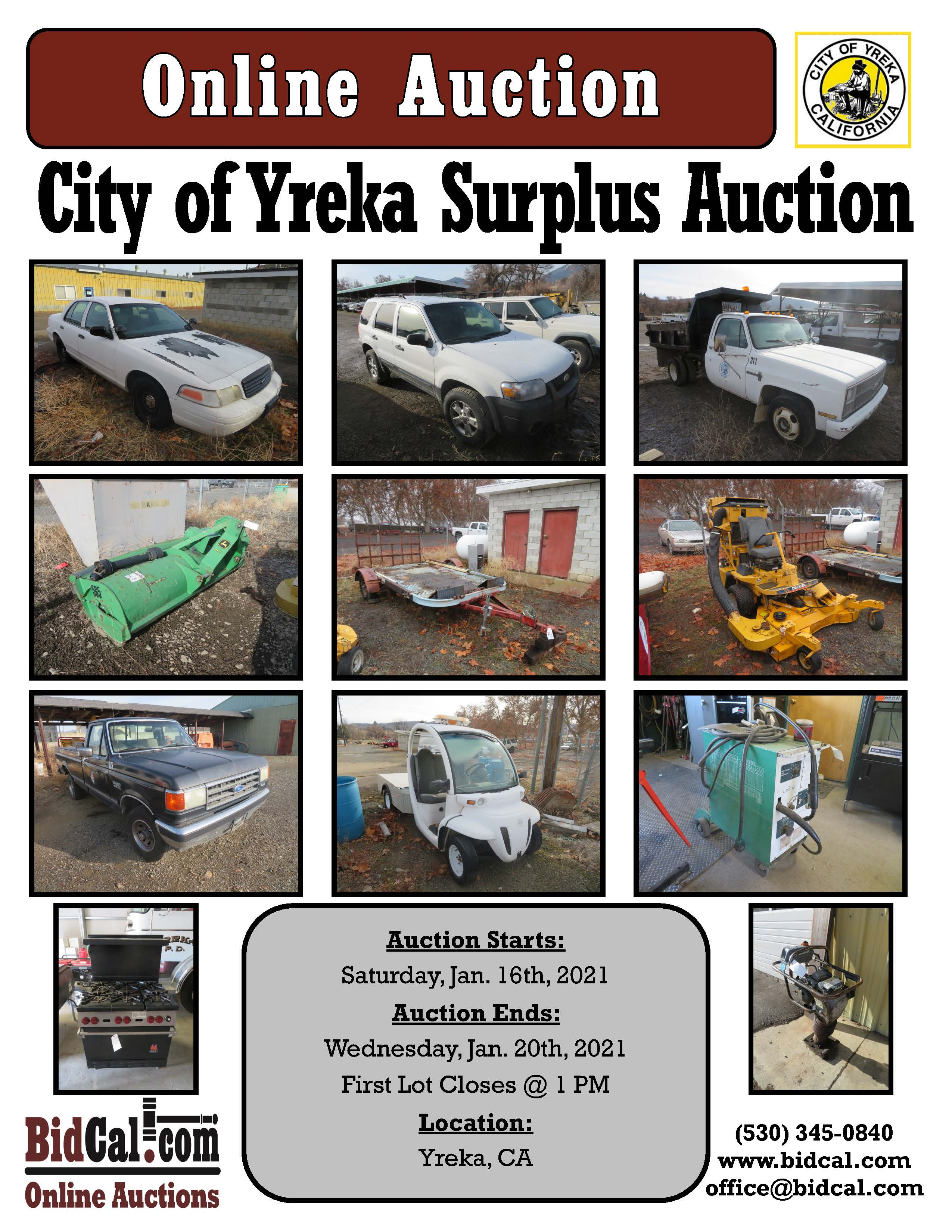 Yreka Surplus Auction (2021)
