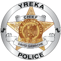Yreka Police Badge